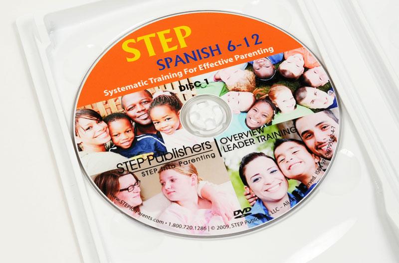 STEP Spanish DVD