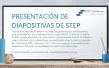 Example slide of the STEP slide deck in Spanish