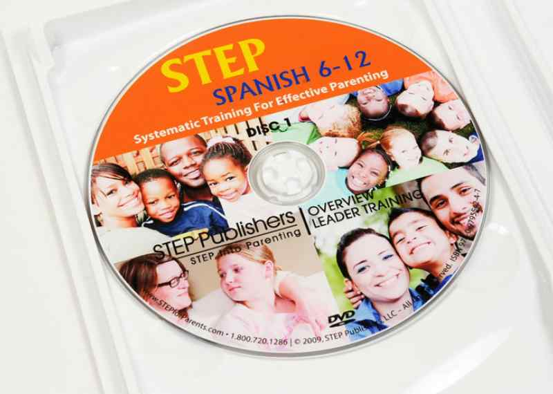 STEP Spanish Video Set (2 DVDs)